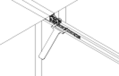 Demontageschlüssel zu Schiebetürbeschlag PORTA 60 / 100 HMT