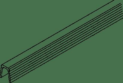 Führungsschiene COMBINO / CLIPO zum Einnuten