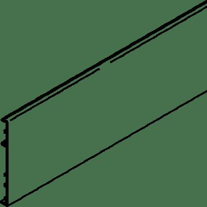 Clip-Blende zu Glasschiebetürbeschlag PORTA 100 G