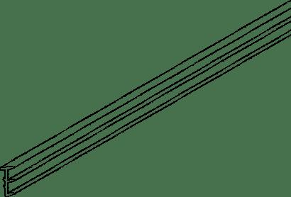 Dichtungsprofil zu Glasschiebetürbeschlag PORTA 100 GWF
