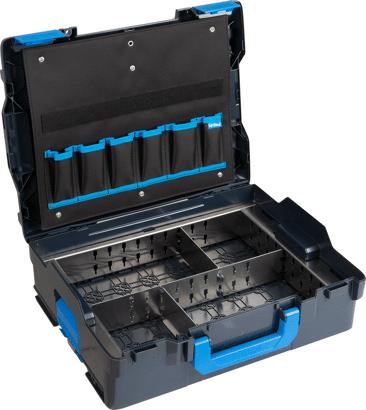 L-BOXX G4 mit Trennblechset und Werkzeugkarte