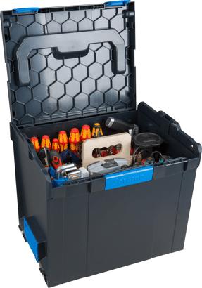 L-BOXX mit Werkzeugtasche Elektriker