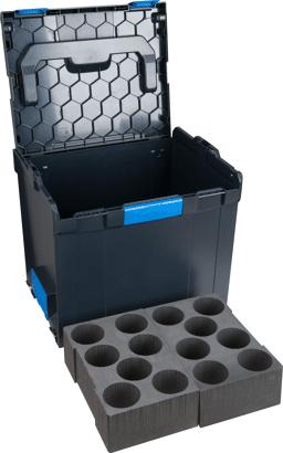 L-BOXX mit Schaum-Kartuscheneinsatz