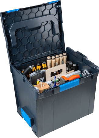 L-BOXX mit Werkzeugträger Schreiner