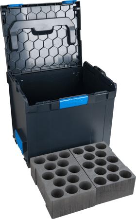 L-BOXX mit Silikon-Kartuscheneinsatz