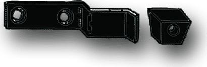 Verschlusshaken 2-flg. paarweise