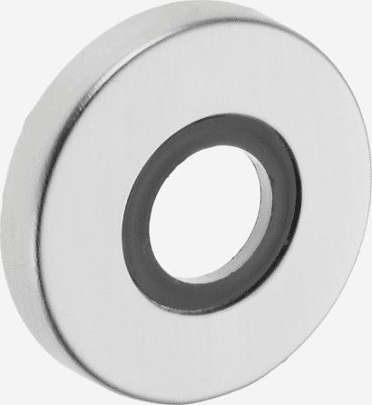 Drückerrosette Aluminium rund
