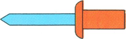 Dicht-Blindniete Kupfer / Edelstahl