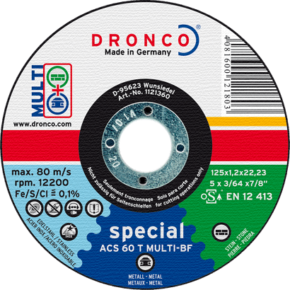 Trennscheibe Special ACS 60 Multi