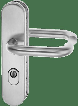 Feuerschutz-Schutz-Drückergarnitur mit Zylinderabdeckung