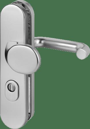 Feuerschutz-Schutz-Wechslegarnitur mit Zylinderabdeckung