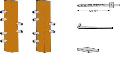 Werkzeugsatz für Triplex HT-Band