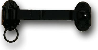 Ladenmittelverschluss mit Ringteil und Kurbel