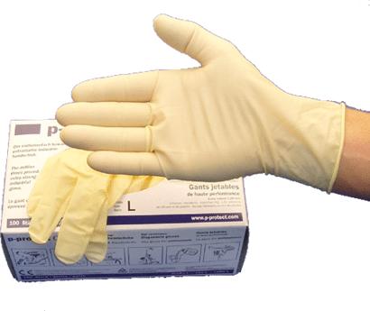 Craft Latex Hochleistungs-Einweghandschuhe