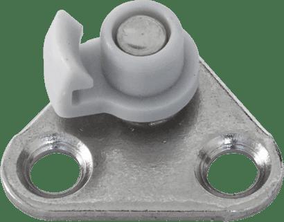 Anschraubteil für Huwilift Bremsklappenhalter für Alu
