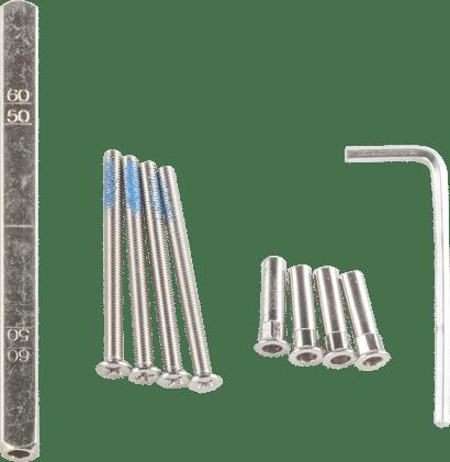 Türstärken-Verlängerungssets für Objekt-Drückergarnitur