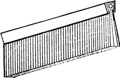 Streifenbürste Typ 5 zum Einnuten