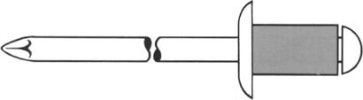 Blindnieten Stahl / Stahl