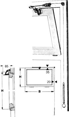 Schnurzug-Oberlichtöffner