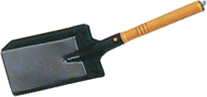 Kohleschaufel Metall