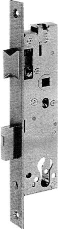 Rohrrahmen-Einsteckschloss 4677