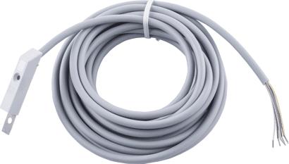 Kabelübergang Rahmenteil zu Mehrfachverriegelung