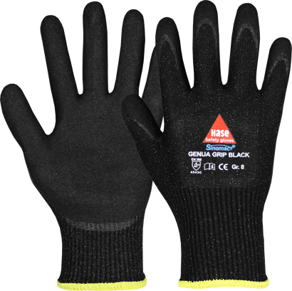 Montagehandschuh GENUA Grip Black