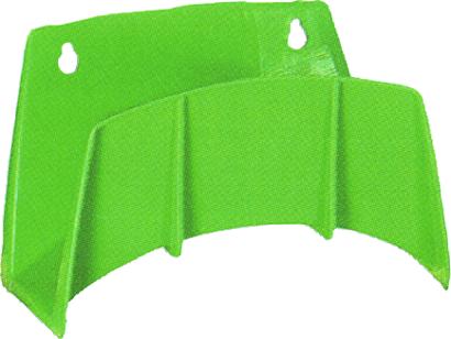 Wandschlauchhalter Kunststoff