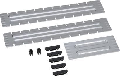 Trennblech-Satz für Metallkoffer