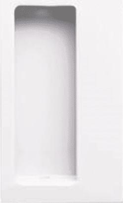Schiebetür-Einlassmuscheln Nr. 539