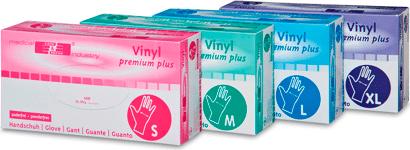 Vinylhandschuhe ungepudert