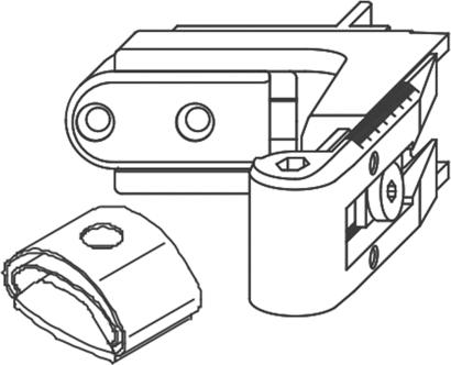 Kurzband für Ladeninnenöffner