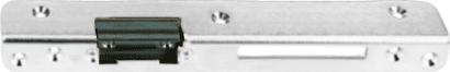 Sicherheits-Winkelschließblech silberfarbig