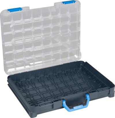 T-BOXX Sortimentskoffer mit transparentem Deckel leer