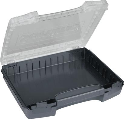 i-BOXX Kleinteilemagazin mit transparentem Deckel leer