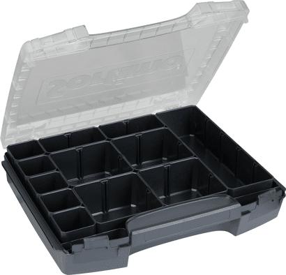 i-BOXX Kleinteilemagazin mit transparentem Deckel mit Insetboxen