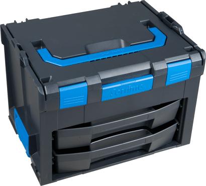 LS-BOXX Multikoffer Verbrauchsmittel und Werkzeugmit Schubläden