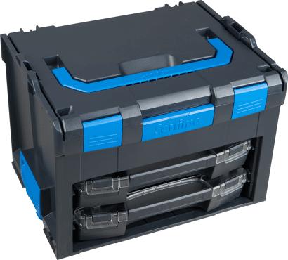 LS-BOXX Multikoffer Verbrauchsmittel und Werkzeug mit i-BOXX