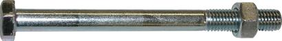 DIN 601 Mu Stahl 4.6 galvanisch verzinkt Sechskantschrauben mit Schaft