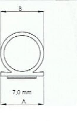 Silikondichtung Omega 137