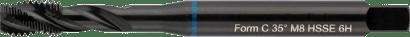 Maschinen-Gewindebohrer Blauring DIN 371 HSS-E RSP