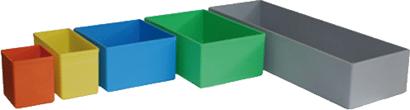 Einsatzboxen für Sortimentskoffer