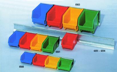 Montageschiene für Sichtboxen