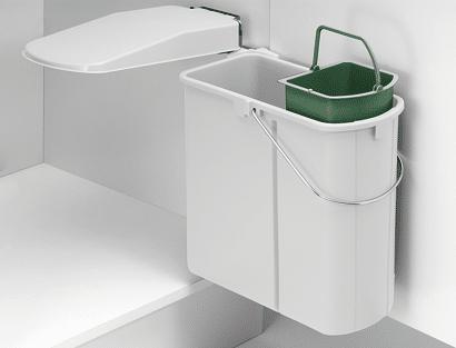 Einbau-Abfallsammler mit Bio-Einsatz