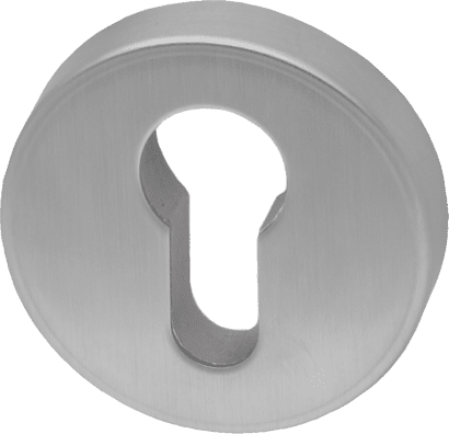 Schutzrosette Aluminium rund