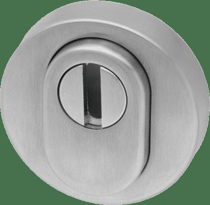 Schutzrosette mit Zylinderabdeckung Aluminium rund