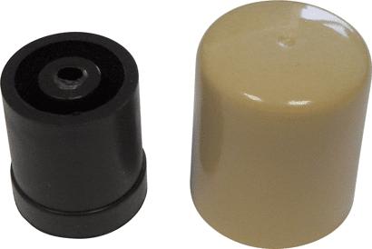 Türpuffer Kunststoff 29 mm