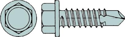 Bohrschrauben DIN 7504 K Sechskantkopf