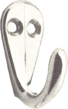 Handtuchhaken einfach 2-Loch