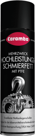 Hochleistungs-Schmierfett-Spray mit PTFE
